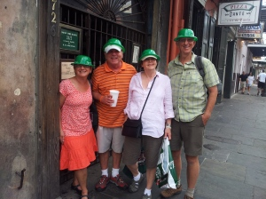 3 Pat's green hats